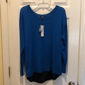 NWT tulip back sweater